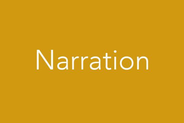 Voices by Sheeda portfolio tile narration